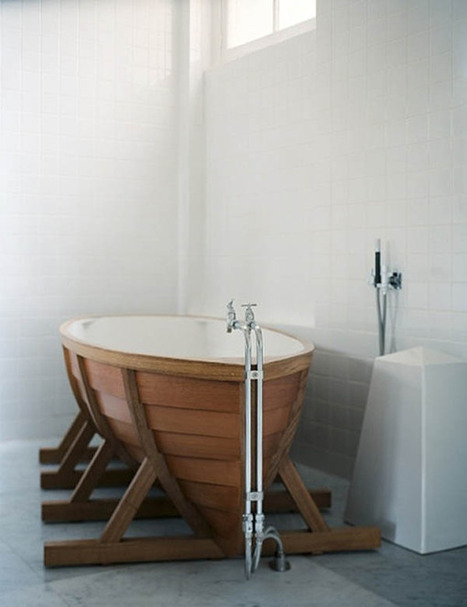 Floating Above Your Cares In The Striking BathBoat | Inspired By Design | Scoop.it