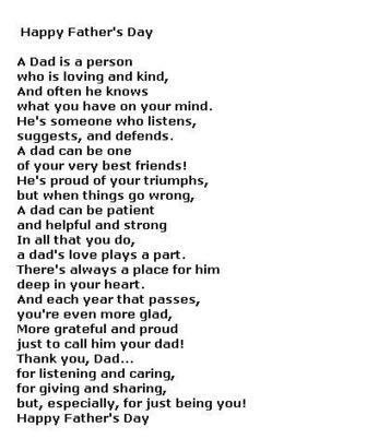 happy fathers day poems in english happy fath