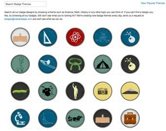Free Technology for Teachers: Reward Students' Achievements with ClassBadges | Games and Education | Scoop.it