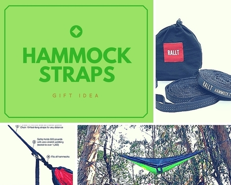 Hammock Tree Straps Are Perfect for Those Who Love Relaxing | Nothing But News | Scoop.it