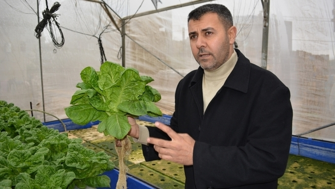 Alternative farming on the rise in besieged Gaza