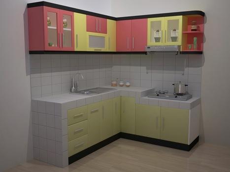 Desain Interior Dapur Kecil Mungil Minimalis Un
