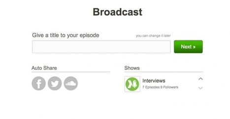 New features: quicker commands for instant podcasting!   Spreaker's Corner   Podcasts   Scoop.it