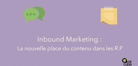Inbound Marketing : la nouvelle place du contenu dans les RP- Le Cube Vert     Stratégies de communication digitale   Scoop.it
