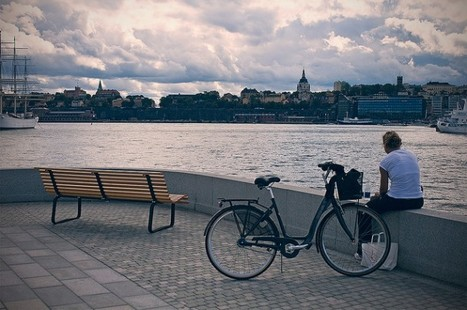 Urban Bicycle Networks and an Improved Sense of Place | green streets | Scoop.it