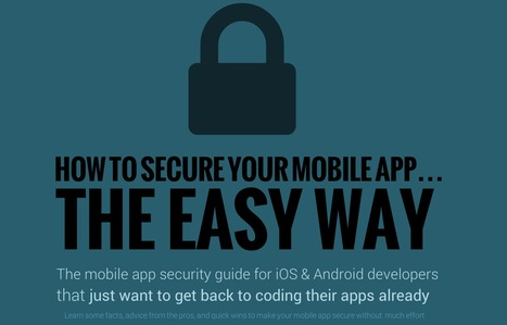 Mobile App Security Guide (Infographic) - Joppar | Android Development for all | Scoop.it