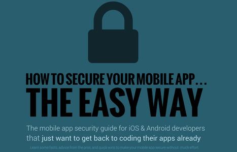 Mobile App Security Guide (Infographic) | Desarrollo de Aplicaciones para Dispositivos Móviles | Scoop.it