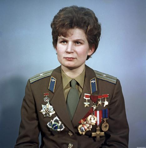 Il y a 50 ans, la première femme dans l'espace. Et aujourd'hui?   Egalité hommes-femmes   Scoop.it