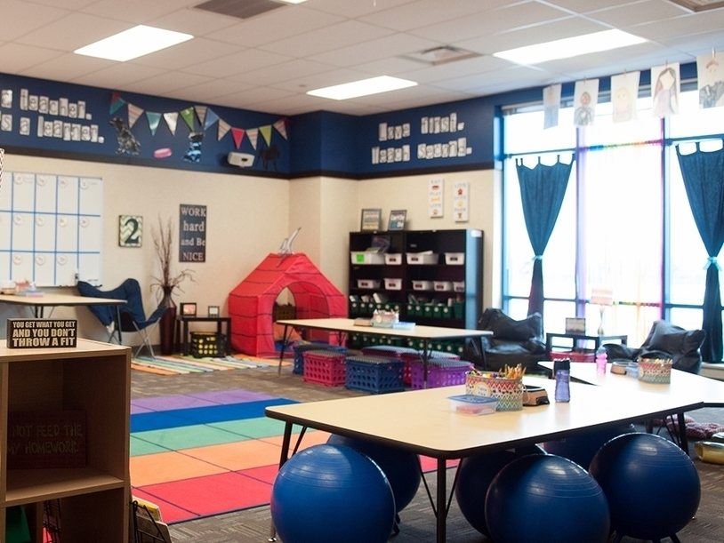 Classroom Redesign ~ Flexible seating and student centered classroom