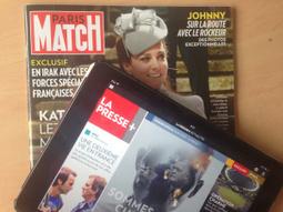 Paris Match et La Presse + s'associent | Les médias face à leur destin | Scoop.it