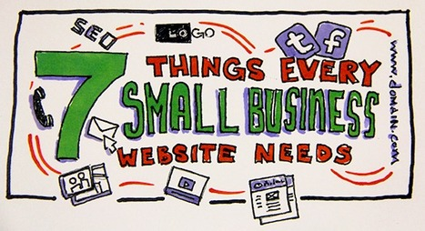 7 Things Every Small Business Website Needs | Business 2 Community | Online Marketing Resources | Scoop.it