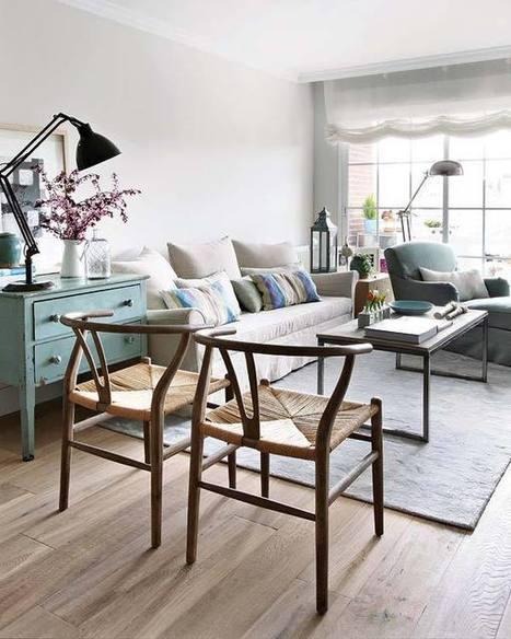 Visite déco : l'appartement d'une décoratrice d'intérieurs | DecoCrush blog déco, idées déco | décoration & déco | Scoop.it
