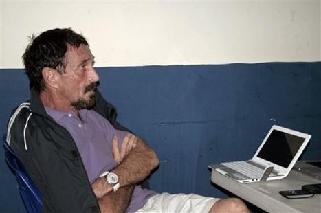 McAfee postea en su blog desde cárcel de Guatemala | Periodismo a secas | Scoop.it