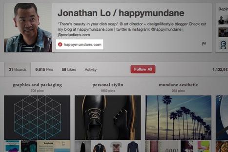 Pinterest now lets you verify your website | Digital Strategies for Social Humans | Scoop.it