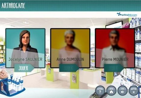 KTM Advance Actualités- Arthrogame, le Serious Game des pharmaciens ! | Elearning & Serious Game | Scoop.it