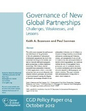 Governance of New Global Partnerships: Challenges, Weaknesses ...   Higher Education Partnerships   Scoop.it