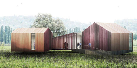 AWP + HHF: pavilions and follies for parc des bords de seine | sustainable architecture | Scoop.it
