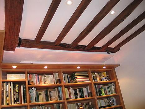 Plafond Poutre Apparente renovation poutre apparente. on conserve les poutres apparentes