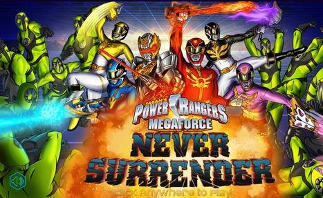 Power Rangers Megaforce Never Surrender | Action Games | Scooby Doo Games | Avatar Games | Scoop.it