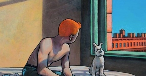 Tintin come in quadri di Edward Hopper - Fumettologica | DailyComics | Scoop.it