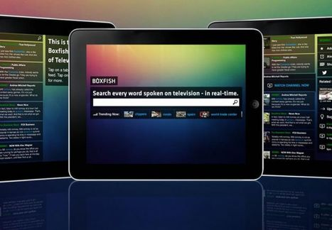 The Boxfish Live iPad app searches every word spoken and trending on television   Video Breakthroughs   Scoop.it