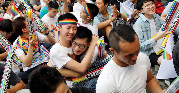 Court Ruling Could Make Taiwan First Place in Asia to Legalize Gay Marriage