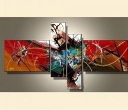 tableaux et peintures contemporains triptyques et toiles. Black Bedroom Furniture Sets. Home Design Ideas