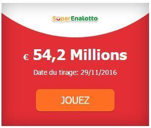 54 200 000 &euro; au #SuperEnalotto #SuperStar <br/>Tirage Mardi 29-11. | Pariez avec ASTROQUINTE | Scoop.it
