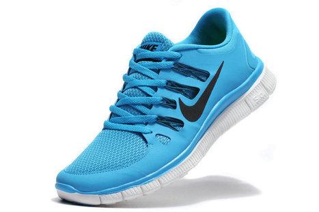Nike Free 5.0 Breathe Men Blue Black [nike free