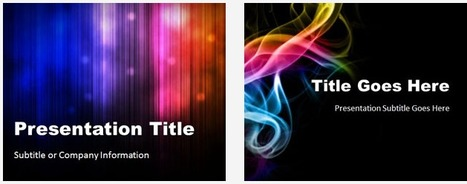 +800 Free PowerPoint Templates & Backgrounds | Education, new technologies,  human resources | Scoop.it