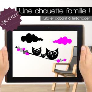 DIY | Gabarit Chouettes à télécharger gratuitement ! | Stickerzlab, des astuces et des idées déco pour tous | décoration & déco | Scoop.it