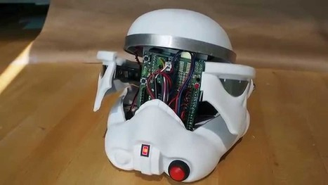 Stormtrooper arduino helmet art build notes   Raspberry Pi   Scoop.it