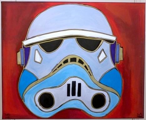 Tarek   Stormtrooper #1 - Artsper   Bande dessinée et illustrations   Scoop.it
