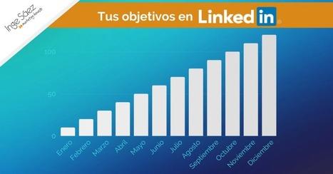 3 ejemplos de OBJETIVOS concretos en #LinkedIn para 2017 @ingesaez @NataliaFdezLara | #socialmedia #rrss | Scoop.it