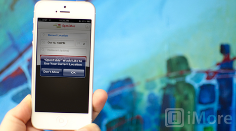 How to grant or deny access to your location with iOS 6 privacy controls | iMore | How to Use an iPhone Well | Scoop.it