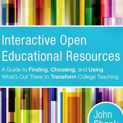 iOERs: A GUIDE TO FINDING, CHOOSING, AND USING WHAT'S OUT THERE TO TRANSFORM COLLEGE TEACHING - YouTube | E-Capability | Scoop.it