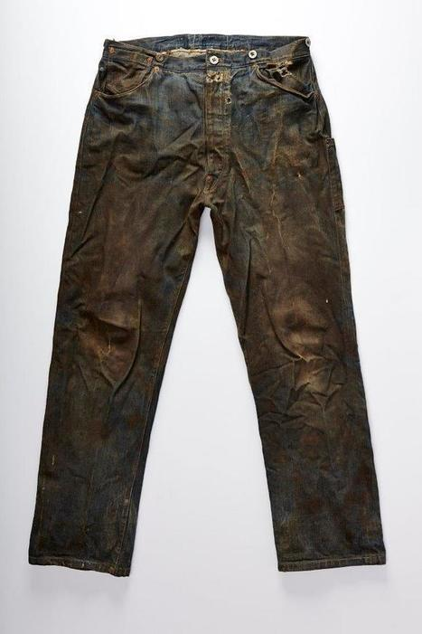 """This Is What a 130-Year-Old Pair of Jeans Looks Like 
