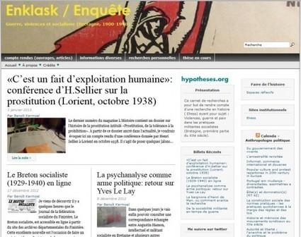 Enklask / Enquête, guerre, violences et socialisme (Bretagne, 1900-1940) | Faire de l'histoire 2.0 | Scoop.it