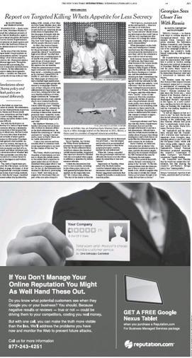 Arrêt sur images - Drones tueurs : le NYT brise l'embargo | NoDrone | Scoop.it