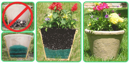 Better Than Rocks for container gardening - Lighter pots, better drainage | Anchors Sales Company - Portfolio | Scoop.it