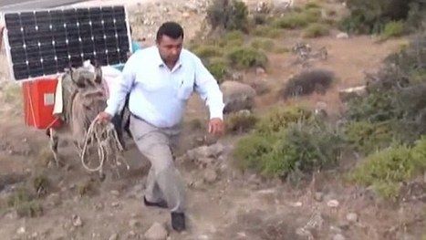 Turkish farmers charge laptops using solar-powered donkeys | Tech in agriculture | Scoop.it