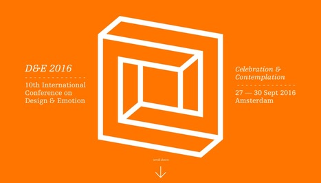 D&E2016 - 10th international Conference on Design & Emotion - Home | Emotional Design | Scoop.it