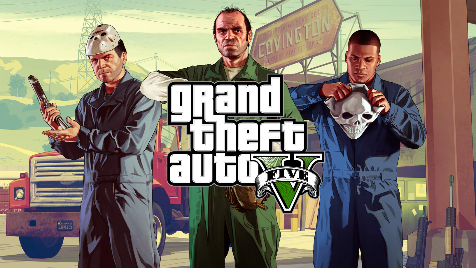 Grand Theft Auto V Free Download - PSP ISOS PPS