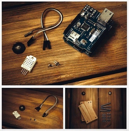 """Arduino Blog » Blog Archive » Monitoring and visualising dual temperature and humidity sensor 