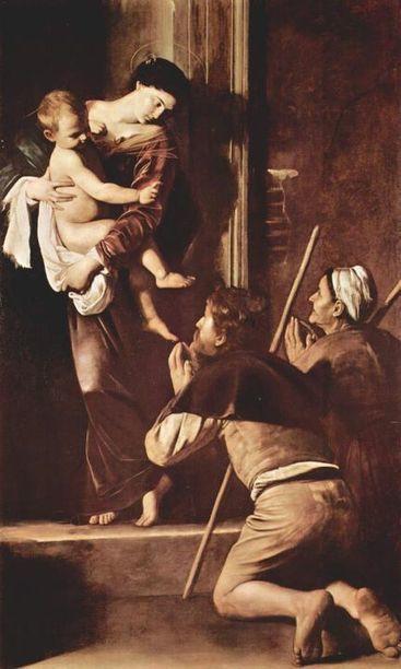 La Madonna dei Pellegrini di Caravaggio: analisi del dipinto | Capire l'arte | Scoop.it