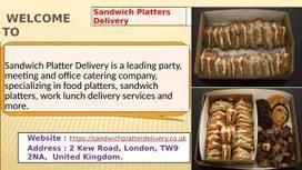 Tesco Sandwich Platters Sandwichplatterdelive