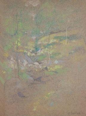 John Henry Twachtman, Horseshoe stream (Late 19th century) | Affinities | Scoop.it