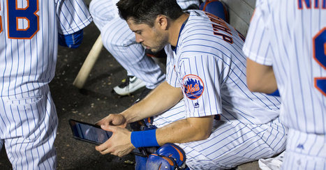 Swiping a Screen Rather Than Flip a Page in Baseball | Communications Major | Scoop.it