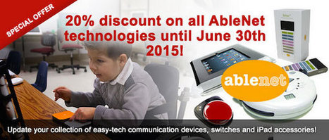 "20% discount on all AbleNet ""easy-tech"" technologies from Spectronics – only until June 30th 2015! 