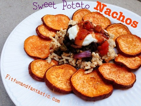 Healthy Nachos With Sweet Potato Chips   Recipes   Scoop.it